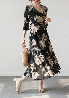 Blooming Blossom Maxi Dress