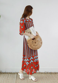 Earth Coral Dress
