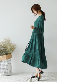 Long Adele Dress
