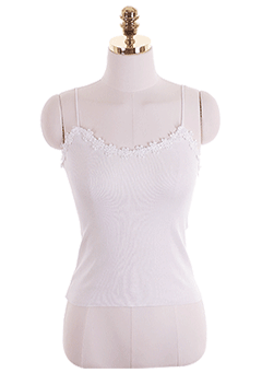 Flower Lace Daily Cami Top