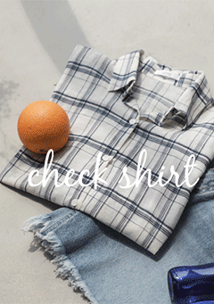 Glama Plaid Pattern Shirt