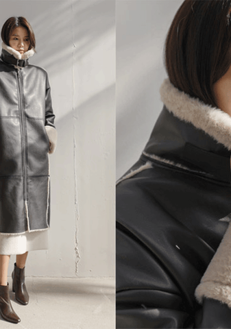 Florence Faux-Shearing Coat