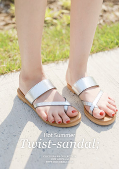 Hot Summer Twist Sandals