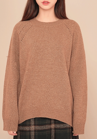 Loose Fit Daily Wool Knit