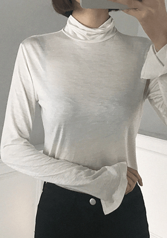 A Surprise Party Turtleneck Top
