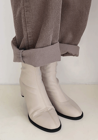 Modern Ankle Slim Boot