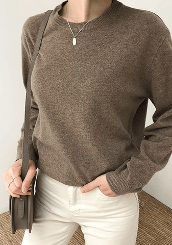Bella Basic Round Knit