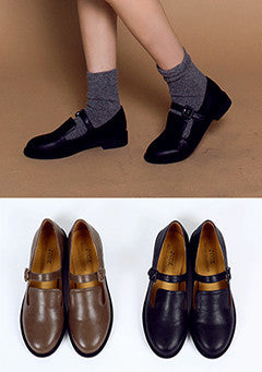 Mary Jane Flat Loafer