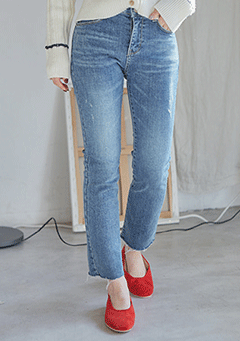 Cutting Basic Denim Pants