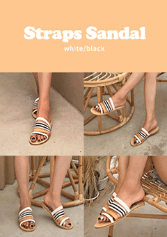 Gather Around Straps Sandal