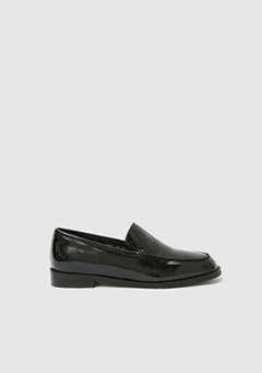 Glossy Flat Loafer