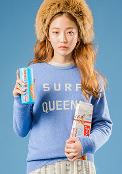 Surf Queen Fitted Knit