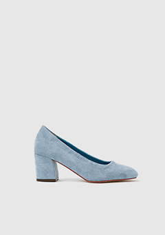 Simple Suede Midi Heel