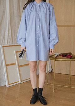 Puff Shirts Dress