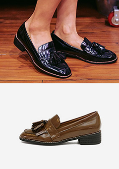 Clean Cut Tassel Loafers