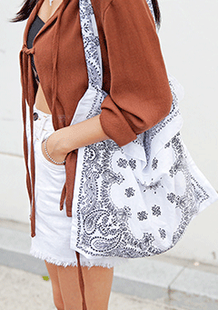 Paisley Daily Bag