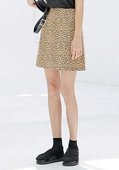 Leopard Hip Skirt