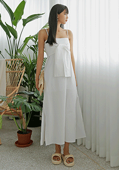 Tie Long Maxi Dress
