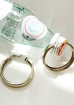 Fairmont Hoop Earrings