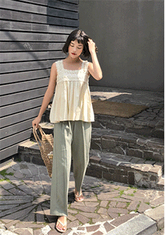 Stein Wide Legs Peg Trousers