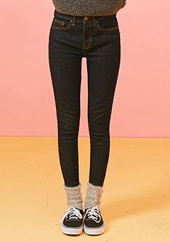 Simple Finish Skinny Jeans