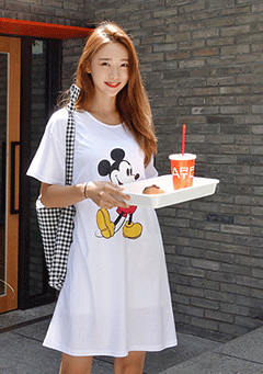 Famous Mouse T-Shirt Dress