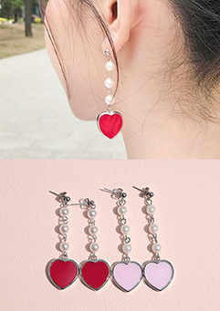 Accepting Heart Earrings