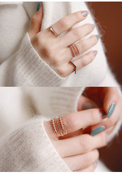 Lace Cubic Ring (2C)