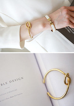 Open-Ended Knot Style Bangle