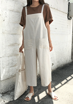 Princeville Maxi Pocket Dungaree