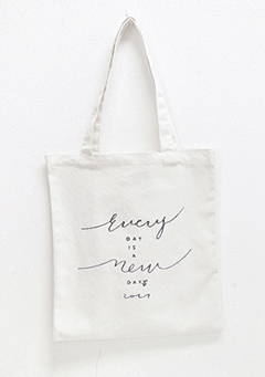 Everyday Is New Tote Bag