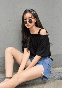 Beautiful Moment Off Shoulder T-Shirt