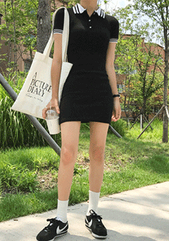 Back To School Polo Dress