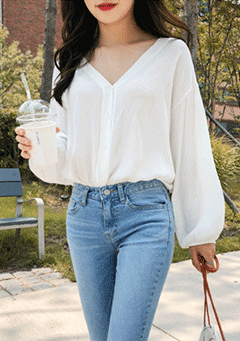 Looking For Love Loose Blouse
