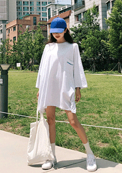 No Problem T-Shirt Dress