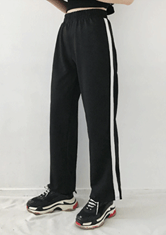 Farmor Stripes Side Sports Pants