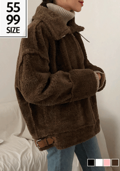 It Is Our Choices Faux-Fur Jacket