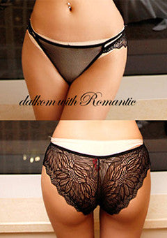 Sun Flower Lace Pantie