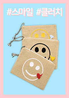 Candy Smile Clutch