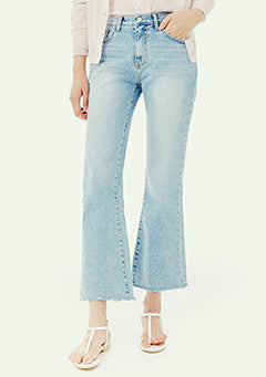 Ankle Bootcut Denim Pants