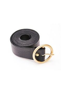Gold Finish Buckle Belt