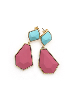Vivid Color Earrings