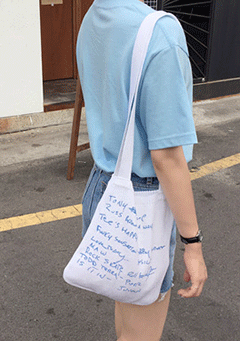 The List Knit Tote Bag