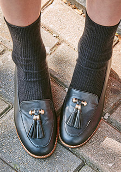 Double Tassel Loafers