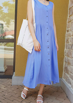 Carlsbad Caverns Sleeveless Midi Dress