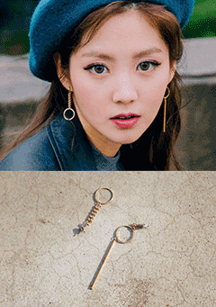 Opposite Tassel Earrings
