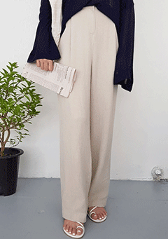 Arizona Linen Wide Legs Pants