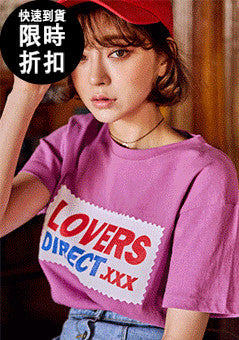 [SALE] LOVERS DIRECT Print Tee