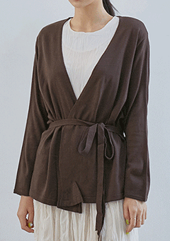 Keep Us Front Us Draped Cardigan