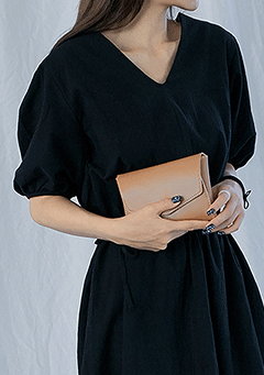 Square Clutch Mini Bag